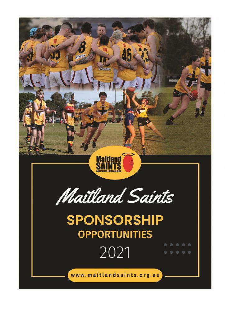 Maitland Saints Sponsorship Package