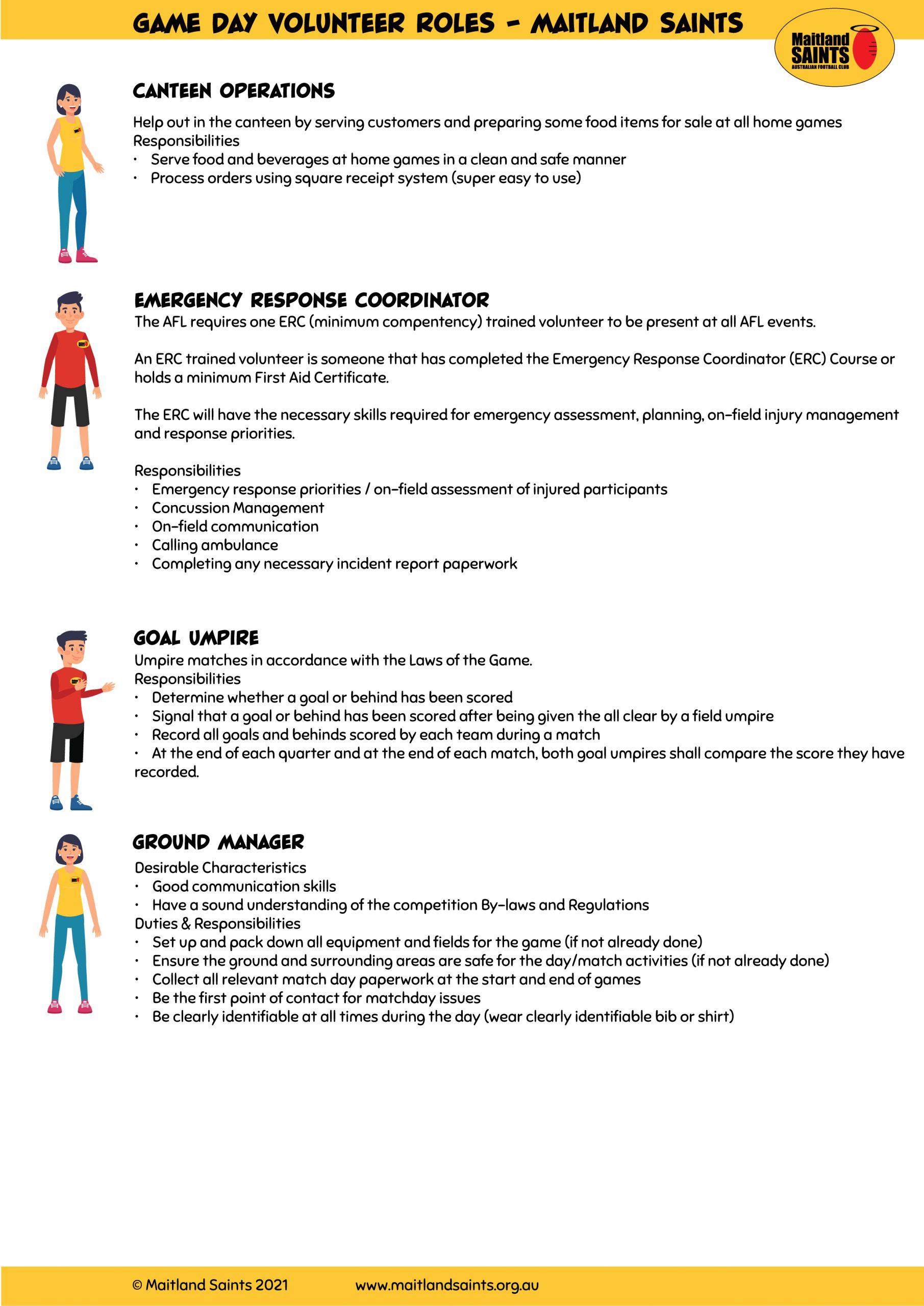 Game Day Volunteer Roles-01